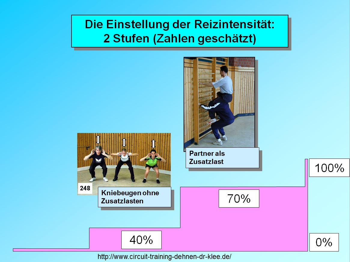 Circuit training Reizintensität