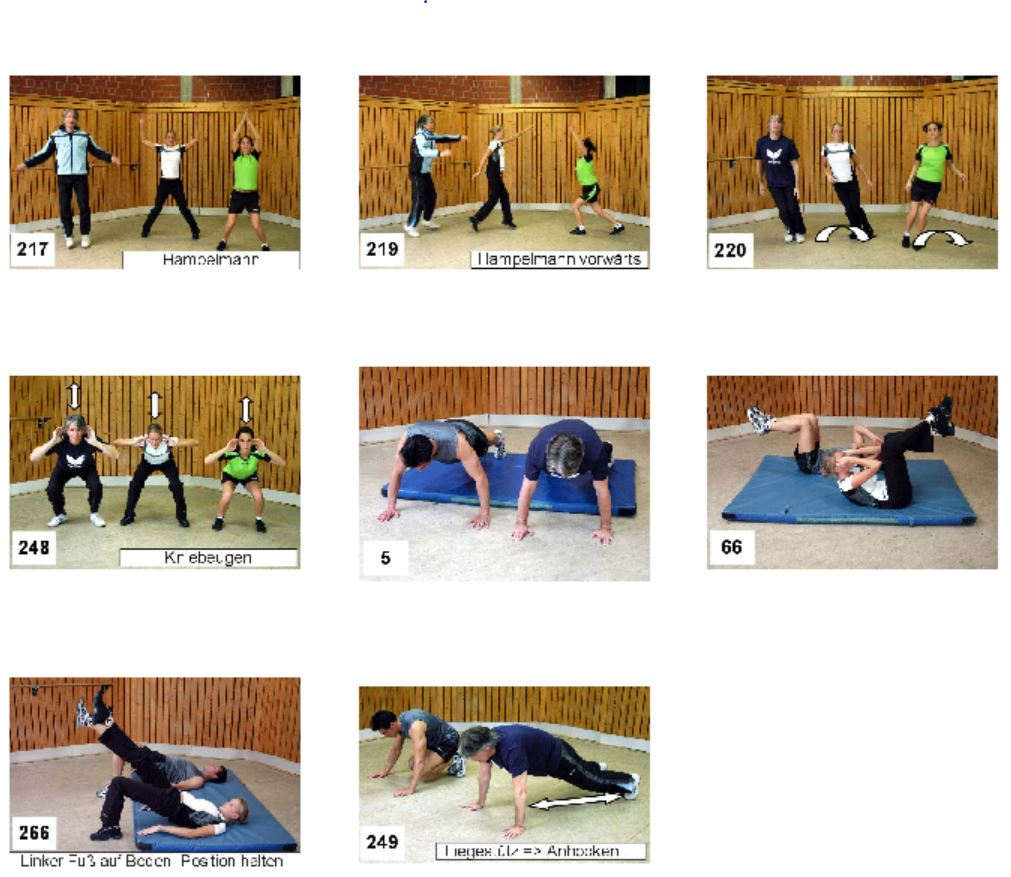 Tabata-Training Fitness Skigymnastik
